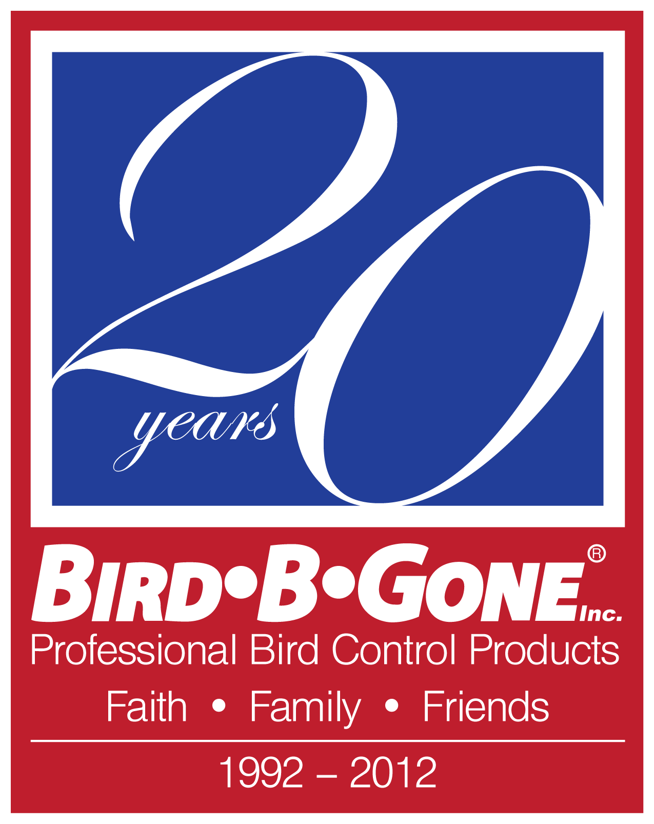 Bird-B-Gone, Inc. Celebrates 20th Anniversary