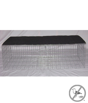 Collapsible Pigeon Trap with Shade 35 inch x 16 inch x 8 inch