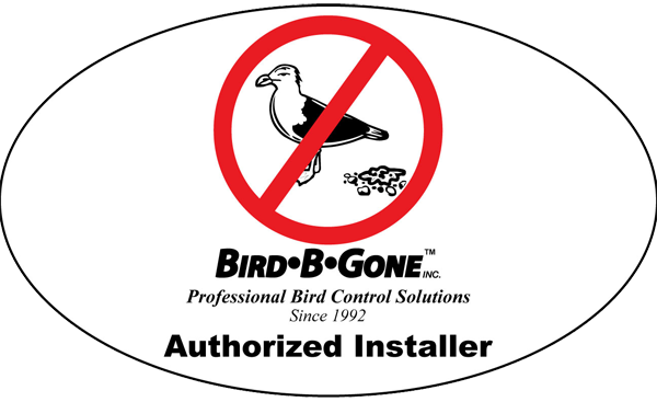 authorized bird control installer